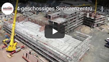 4-geschossiges Seniorenzentrum und 5 Wohngebäude in 36 Wochen Rohbau-Zeit - estecasa Elementbau GmbH